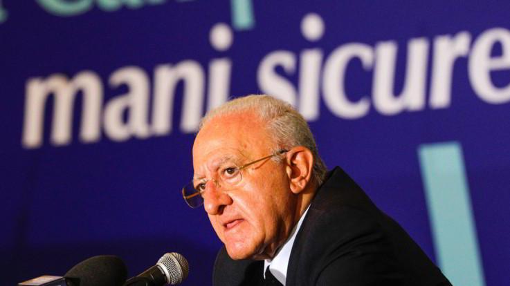 """Campania, De Luca: """"Siamo a 700 casi al giorno: a 800 è lockdown"""""""