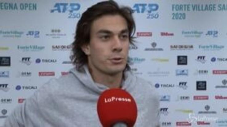 """Forte Village Sardegna Open, Zeppieri: """"Grande emozione la mia prima partita in un circuito maggiore"""""""