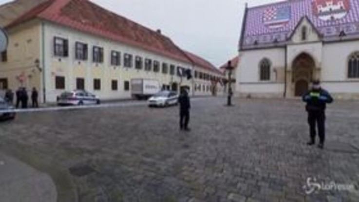 Croazia, spara a un poliziotto davanti al Parlamento e poi si uccide
