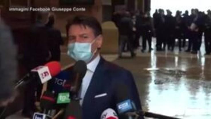 """Covid, Conte: """"Escludo lockdown generalizzato, facciamo numero di test impressionante"""""""
