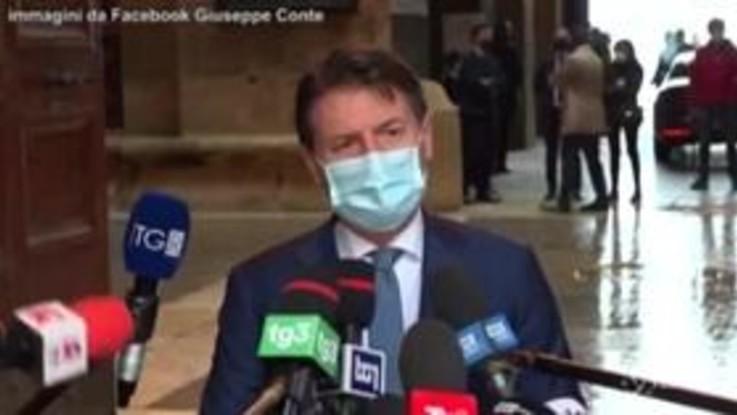 Ex-Ilva: scontro acceso tra il premier Conte e un giornalista a Taranto