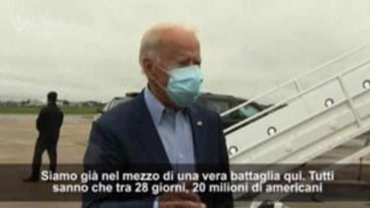 """Usa, Biden: """"Americani potrebbero perdere assicurazione sanitaria, non abbassiamo la guardia"""""""