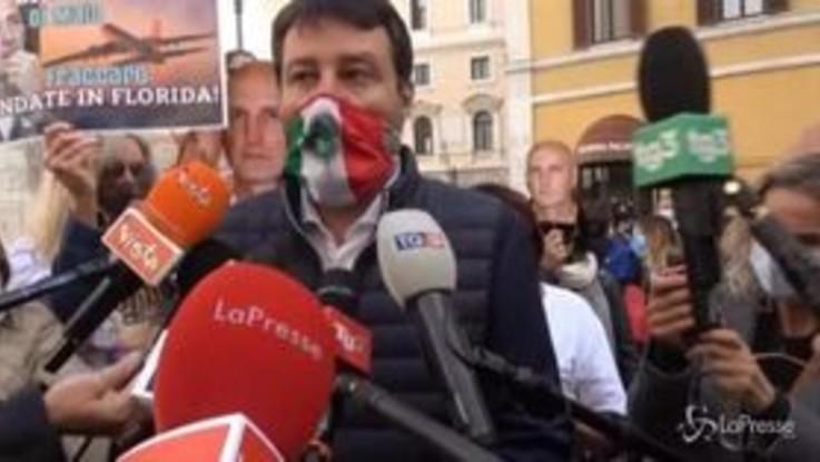 """Mes, Salvini: """"Non ha senso per l'Italia infilarsi in quella gabbia"""""""