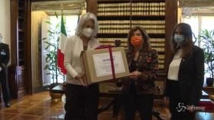 Progetto 'Io Firmo', Casellati riceve delegazione Europa Donna Italia
