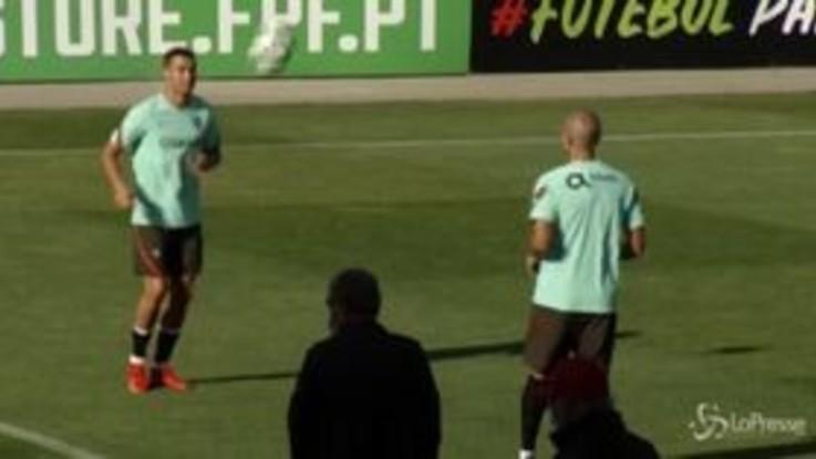Cristiano Ronaldo positivo al Covid-19: l'allenamento prima del tampone