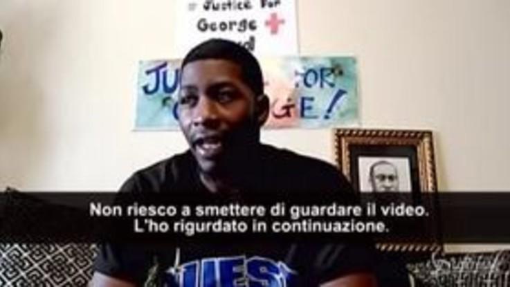 """Morte George Floyd, parla il figlio: """"Non riesco a smettere di guardare quel video"""""""