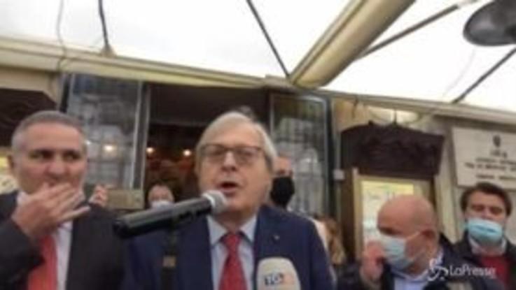 """Roma, Vittorio Sgarbi si candida a sindaco: """"Convergenza su di me o primarie del centrodestra"""""""