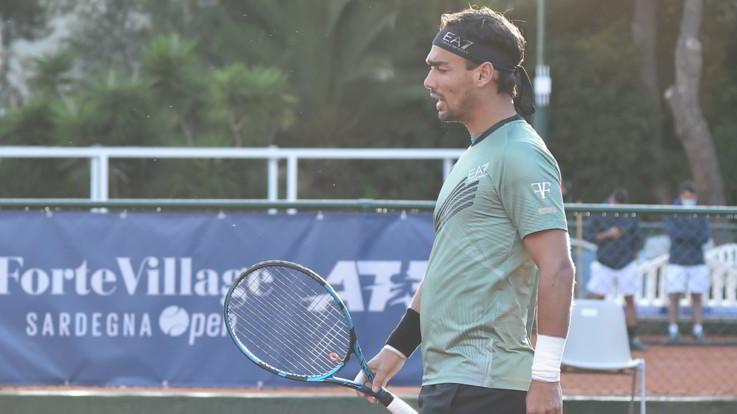Fabio Fognini positivo al Covid-19