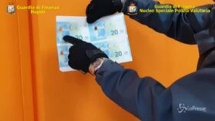 Napoli: banconote false per quasi 1 milione di euro, 4 arresti