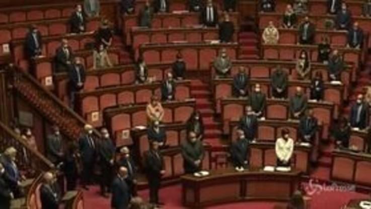 Santelli: il Senato la ricorda con un minuto di silenzio