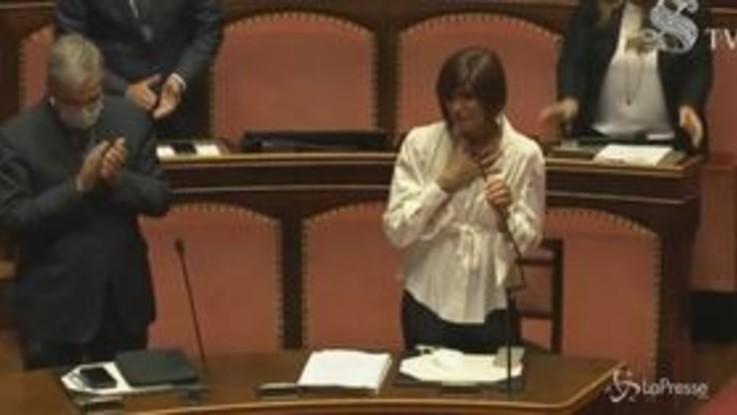 In Senato Bernini in lacrime per la morte di Jole Santelli