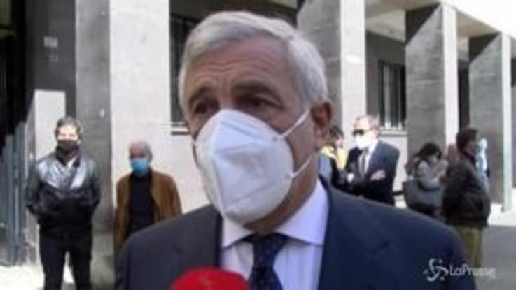 """Funerali Santelli, Tajani: """"Ha concluso la sua vita felice di poter lavorare per la sua terra"""""""