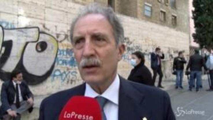 """Funerali Santelli, Bardi: """"Mancherà punto di riferimento importante per il Mezzogiorno"""""""