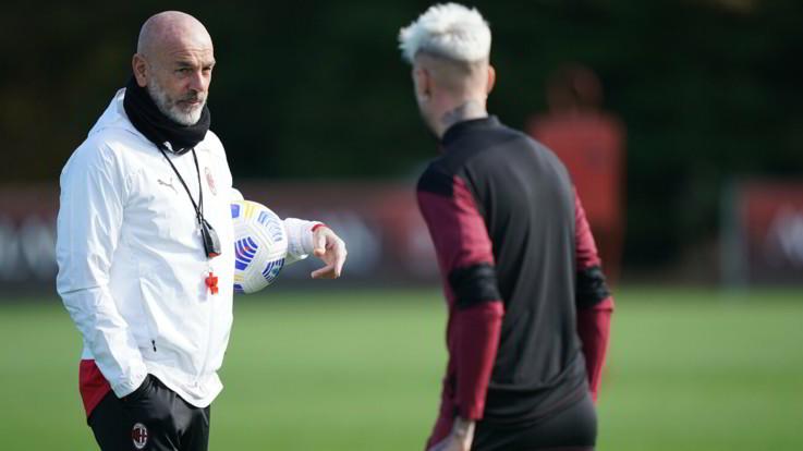 """Milan, Pioli: """"Ibra motivato, sta bene ed è pronto per giocare"""""""