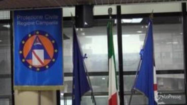 """In Campania crescono i contagi, Unità di Crisi: """"Pronti a dare risposte per esigenze che verranno"""""""
