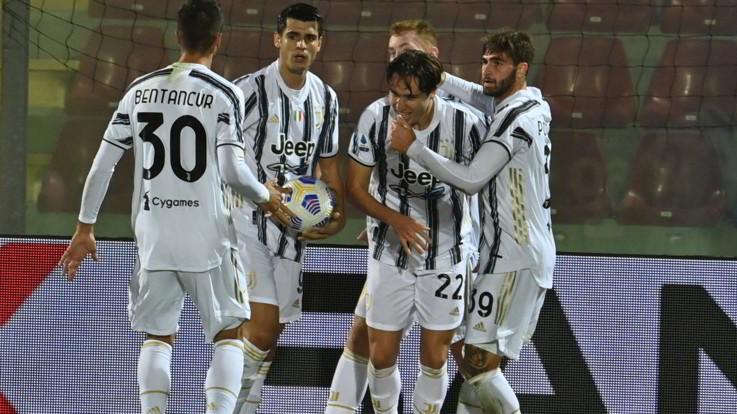 Flop Juve a Crotone: Morata evita primo ko di Pirlo