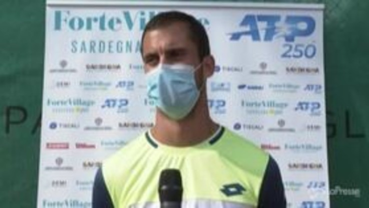 """Forte Village Sardegna Open, Djere: """"Una settimana da sogno"""""""