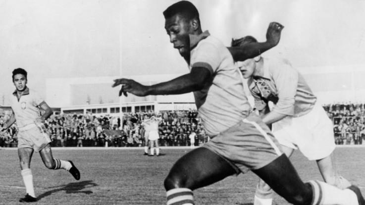 80 anni del mito Pelè: più di 1000 gol e 3 volte campione del Mondo