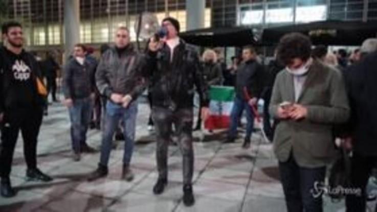 """L'ex forcone Danilo Calvani guida le proteste contro le misure anti-Covid: """"Il Paese è in subbuglio"""""""