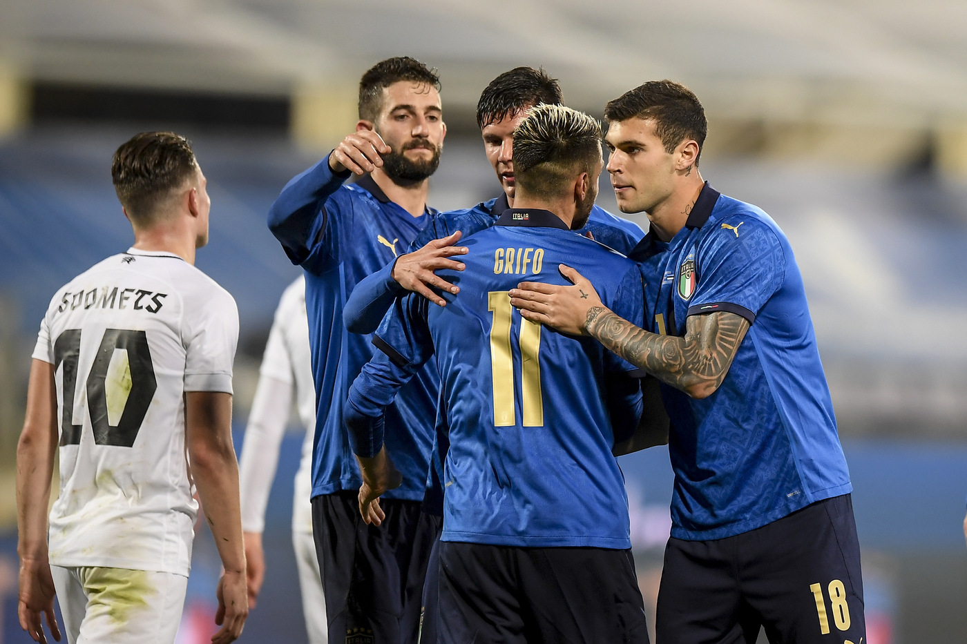 Amichevoli Internazionali, Italia vs Estonia