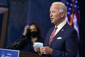 Usa, Joe Biden e Kamala Harris illustrano la loro agenda post-Covid