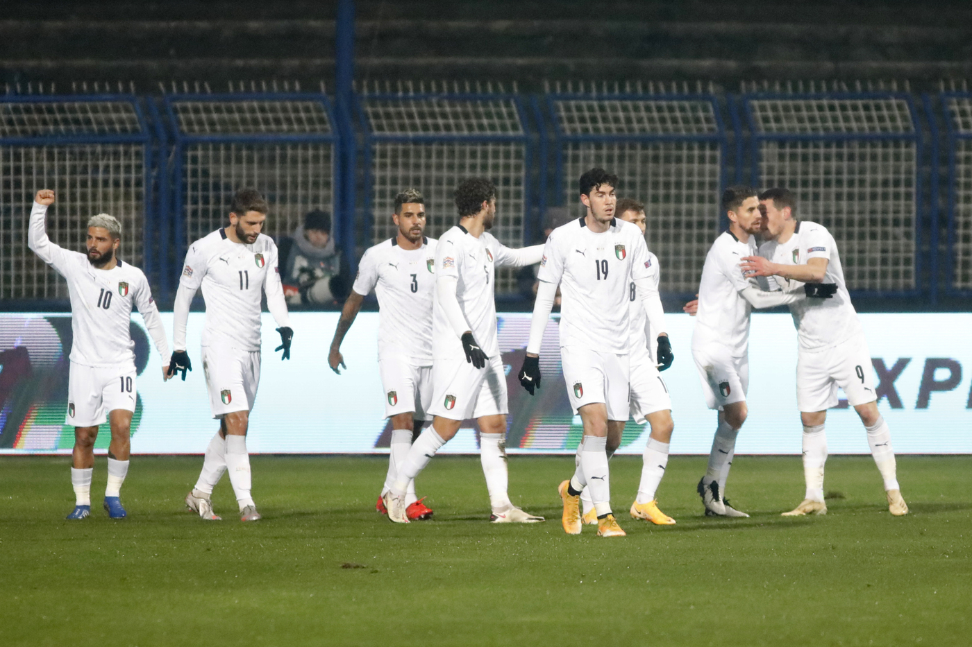 Bosnia vs Italia - UEFA Nations League