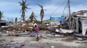 Colombia, l'isola di Providencia distrutta dall'uragano Iota