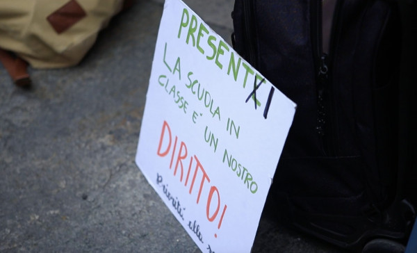 La protesta studentesca contro la DAD, marcia indietro della Preside del Liceo Gioberti di Torino