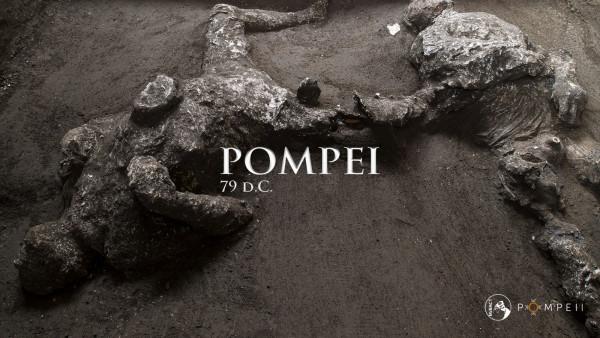 Pompei: scoperti due corpi integri