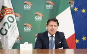 Giuseppe Conte partecipa al Vertice G20 di Riad