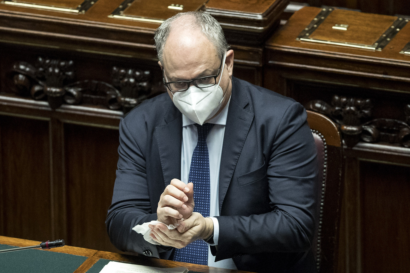 Camera dei Deputati - Comunicazioni di Giuseppe Conte sull'emergenza Covid-19