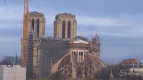 Parigi: rimosse 200 tonnellate di impalcature da Notre-Dame