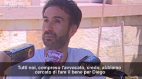 """Maradona, parla Luque in lacrime: """"Ho fatto il possibile per Diego"""""""