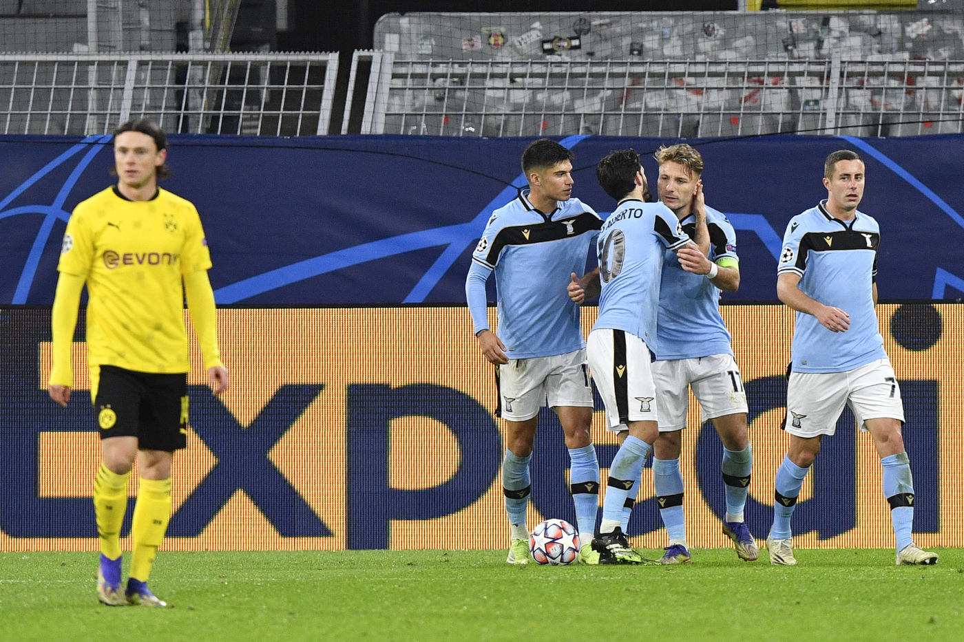 Champions League, Borussia Dortmund vs Lazio