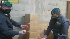 Sant'Antimo (Napoli), sequestrata una tonnellata di fuochi d'artificio illegali