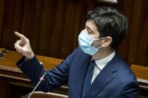 Camera dei Deputati - Informativa urgente del ministro della Salute Roberto Speranza