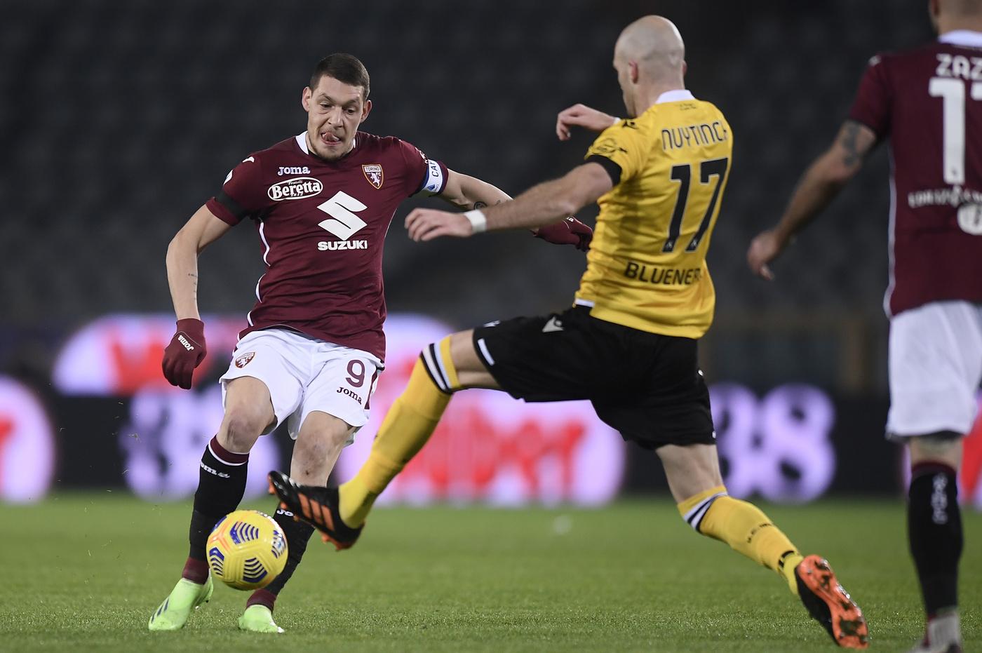Torino vs Udinese - Serie A TIM 2020/2021