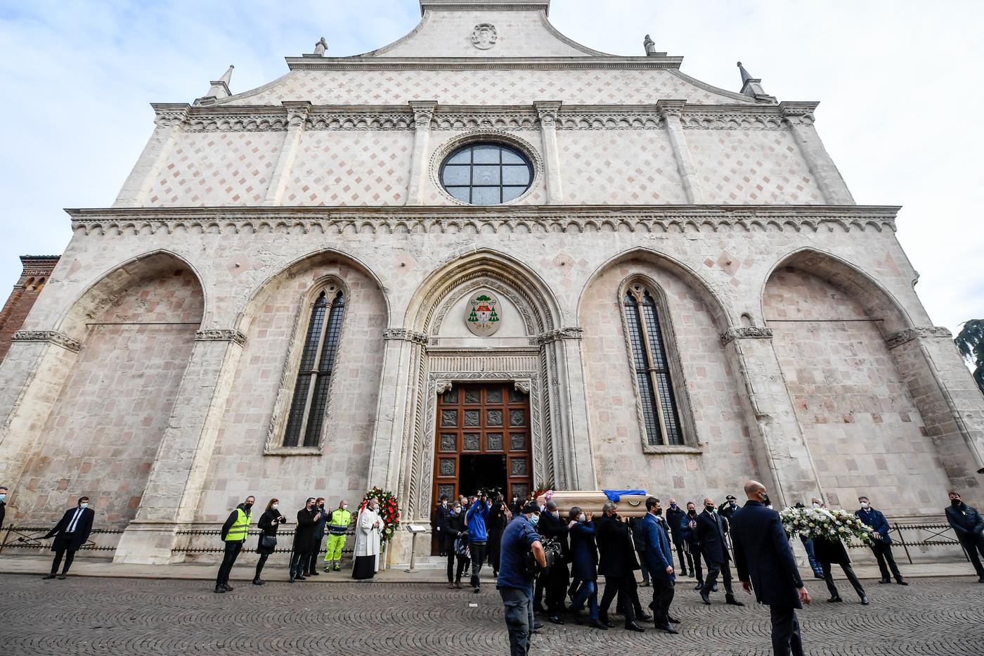 Funerali di Paolo Rossi presso il Duomo di Vicenza