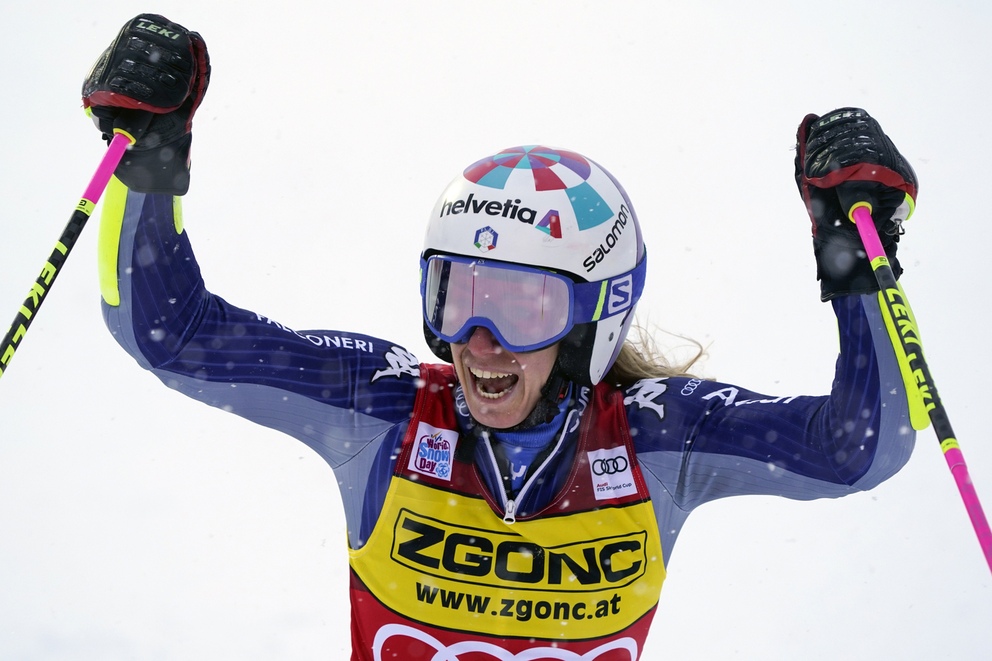 Sci alpino, Slalom Gigante di Coppa del Mondo femminile a Courchevel