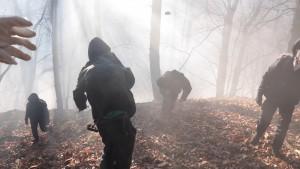 No Tav in marcia, pomeriggio di guerriglia e scontri nei boschi con la polizia