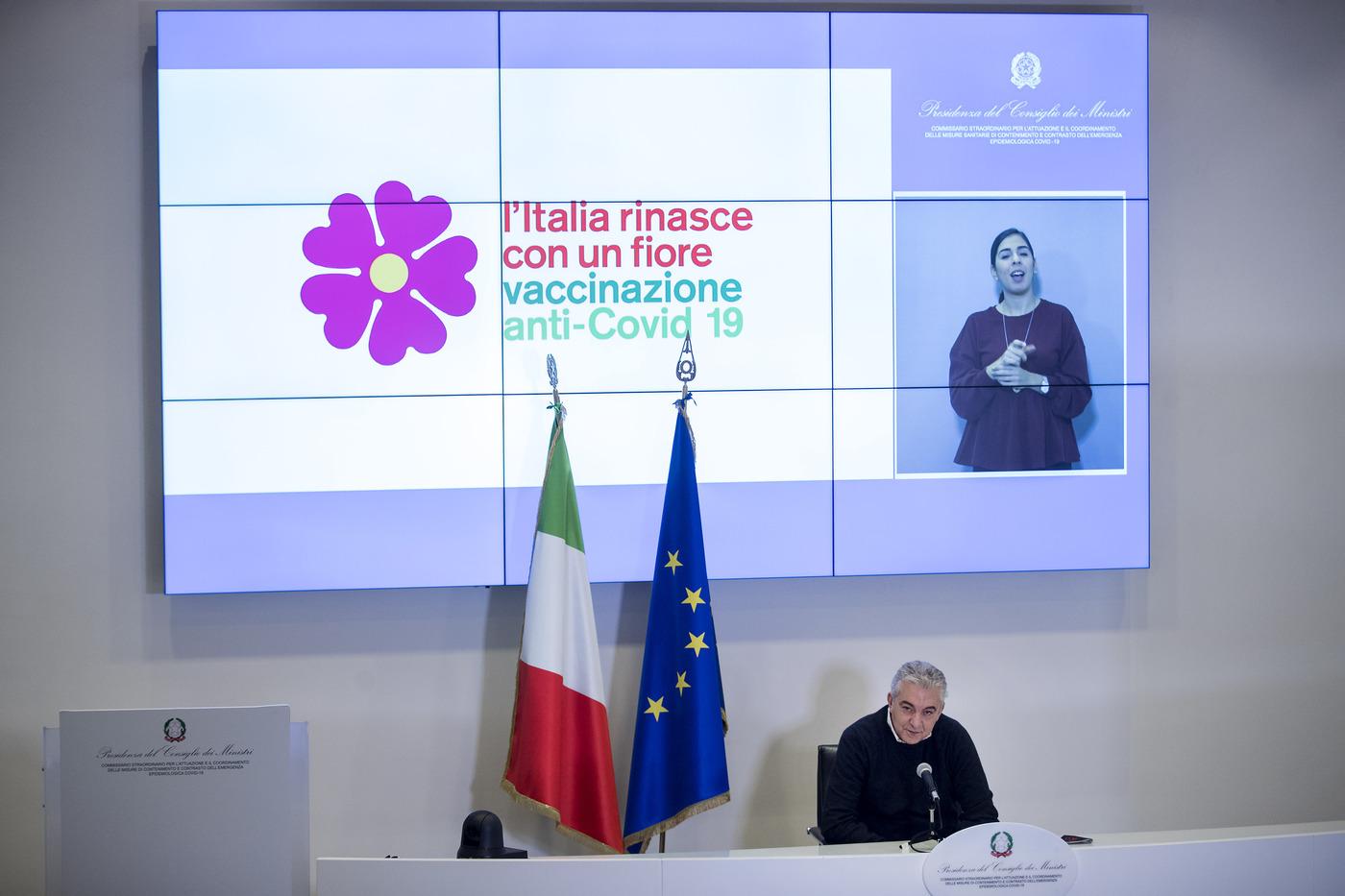 Domenico Arcuri presenta il piano vaccini anti Covid-19