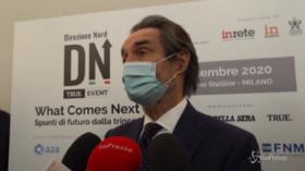 """Assembramenti a Milano, Fontana: """"La gente vuole tornare a vivere normalmente, ma è prematuro"""""""