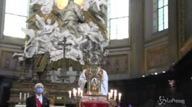 """Napoli: niente miracolo di San Gennaro, """"Il sangue non si è sciolto"""""""