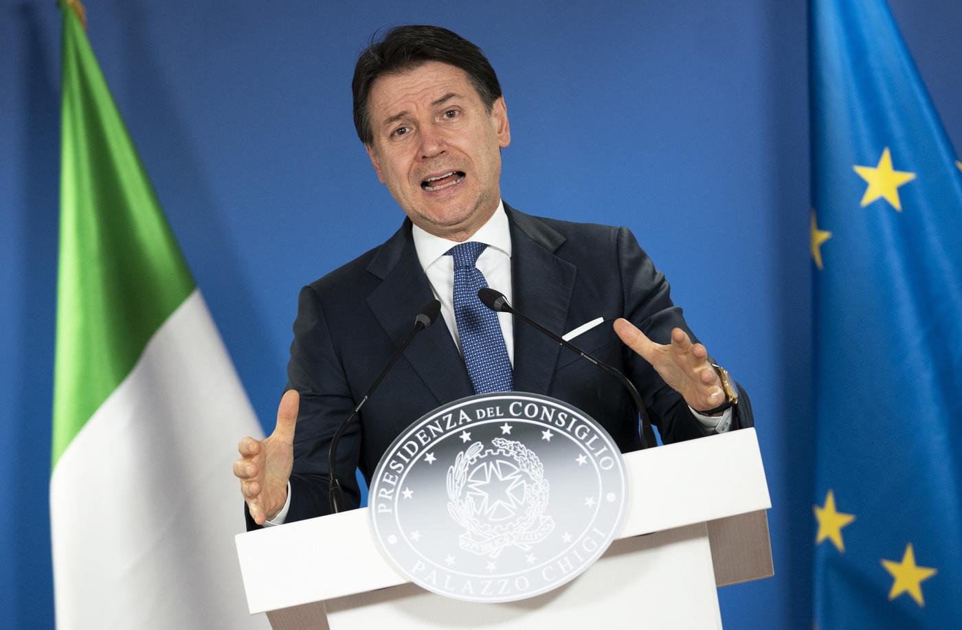 Il Presidente Giuseppe Conte a Bruxelles al Consiglio europeo e all'Eurosummit