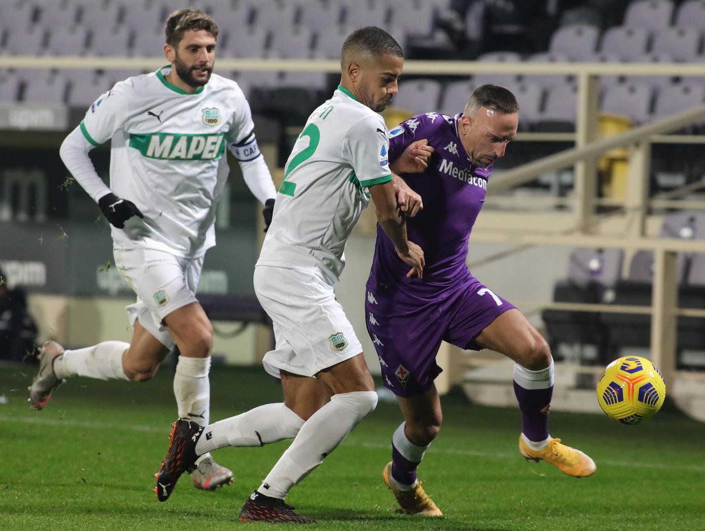 Fiorentina vs Sassuolo - Serie A TIM 2020/2021