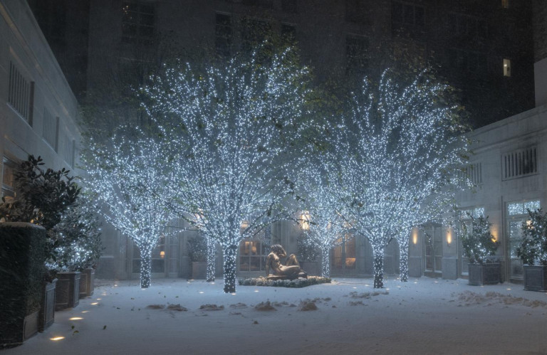 Forte nevicate a New York