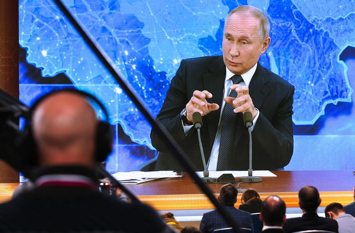 Russia, Vladimir Putin in conferenza stampa di fine anno