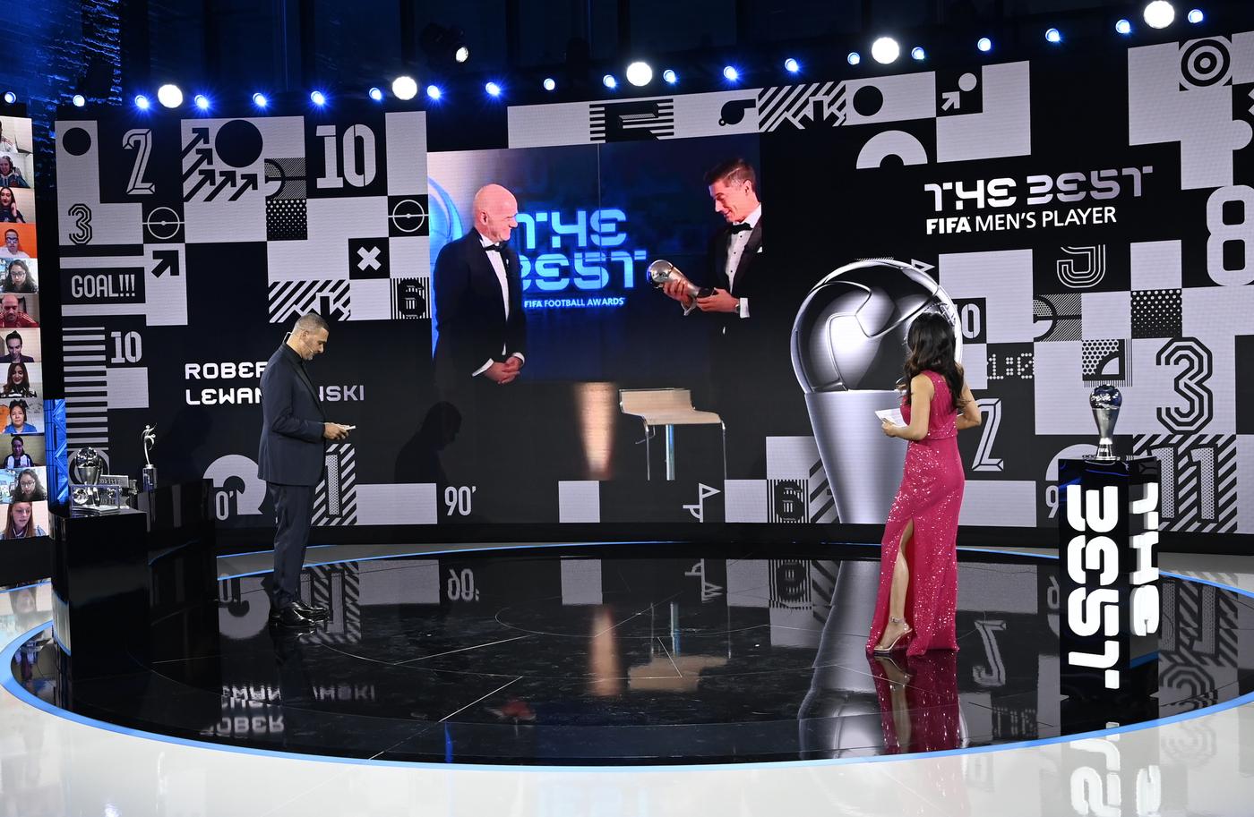 The Best FIFA Awards 2020, la cerimonia in video streaming da Zurigo
