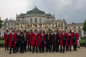 Stupinigi e Venaria, riconoscimento Unesco per l'arte musicale dei suonatori da caccia