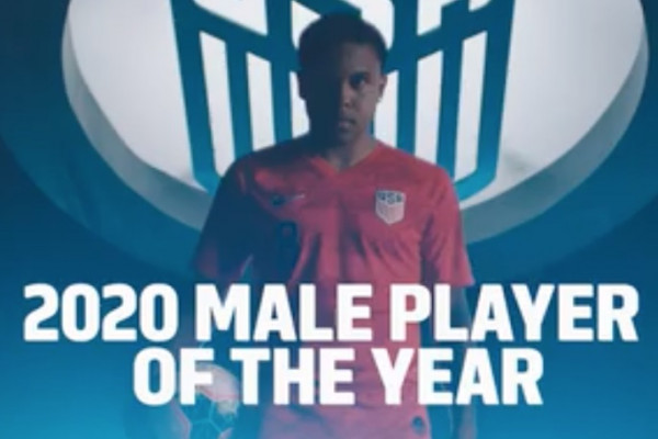 Calcio, Stati Uniti: lo juventino McKennie eletto miglior giocatore dell'anno